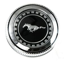 New! 1971 - 1972  - 1973  Ford Mustang Gas Cap Chrome Twist on with cable
