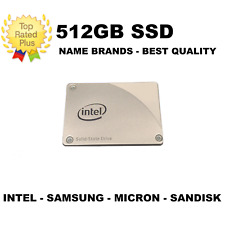 """2.5"""" 512GB SSD - SATA 3 - 256GB 480GB 500GB - FOR PC and MAC MIXED NAME BRAND"""