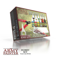The Army Painter Wargaming Hobby Starter Set Paints Brushes File Cutter Tray
