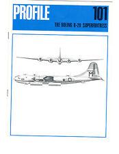 BOEING B29 SUPERFORTRESS PROFILE BROCHURE - B-29 BOMBER (November 1971)