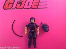 1988 GI Joe Python Tele-Viper Figure G.I. Joe w backpack and hose tight joints