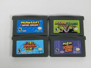 Lot of 4 Nintendo Game Boy Advance GBA Games - Nintendo Game Boy Advance