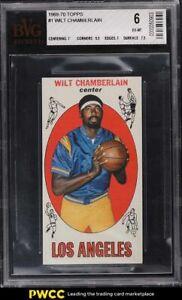 1969 Topps Basketball Wilt Chamberlain #1 BVG 6 EXMT
