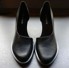 Ann Demeulmeester Bozo Nero High Heel Shoes 39