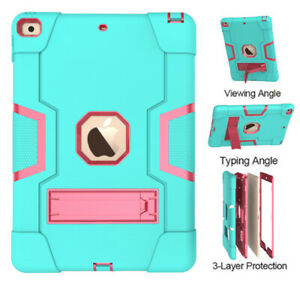 """For iPad 7th 8th Gen 10.2"""" 2020 Tablet Case Rugged Shockproof Hybrid Stand Cover"""