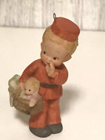 Enesco Memories of Yesterday Lucie Attwell Christmas Ornament 1988  Delivery
