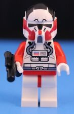 LEGO® STAR WARS™ Custom Minifigure Red SHOCK CLONE PILOT 100% LEGO