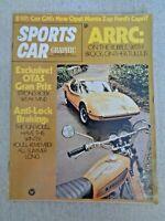 Sports Car Graphic Magazine Feb 1971 Opel 1900 Capri 2000 Mike Eyerly Formula 8