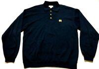 Notre Dame Cutter & Buck Mens Blue Long Sleeve Sweater Size XL