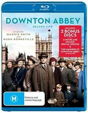 DOWNTON ABBEY DOWNTOWN ABBEY SEASON SERIES 5 + A Moorland Holiday Blu Ray RB new