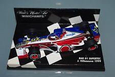 Minichamps F1 1/43 BAR SUPERTEC 01 - ZIPPER CAR - VILLENEUVE 1999