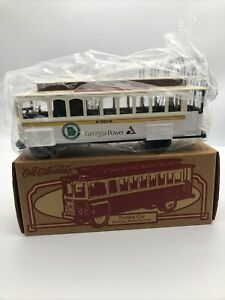 Georgia Power Trolley Car Ertl  Transit Company  Die Cast 1996