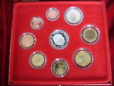 Monaco KMS 2004 PP Sainte Devote limitiert Rainier III 1ct - 2 € + 5 Euro Silber