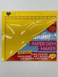 Tool buddies 19.5x21.5cm mini Score board Card Envelope Paper Gem Maker journal