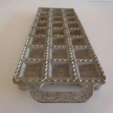 Moule 24 raviolis RAVIOLAMP vintage aluminium art-déco ITALY