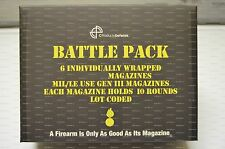SIX 10 round 6.8 SPC Stainless Steel C Products Defense Magazines - Battle Pack