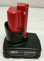 Milwaukee 48-11-2440 Battery M12 12V 12 Volt XC 4.0 Ah Red Lithium Ion N
