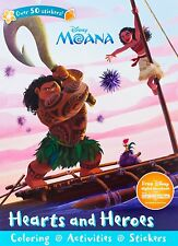 Disney Moana Children Coloring Books For Kids Kid Sticker Book Activity Book New