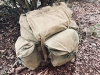Original Vietnam War Vietcong Rucksack VC NVA Special Force CISO MACV Mike Force