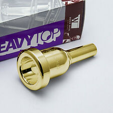 "Bach 6-1//2A Gold Rim Large Shank Artisan Trombone Mouthpiece 402BB .2283/"" Throat"