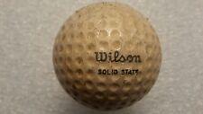 Vintage Wilson Solid State Billy Casper   golf ball