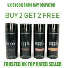 Toppik Hair Building Fibres 27.5 Buy & Pay For 2 & Get 2 Free Same Day Dispatch