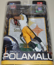 Series 25 Troy Polamalu McFarlane Alternate Variant White Jersey Steelers