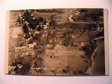 RPPC Aerial View of China ME OLD