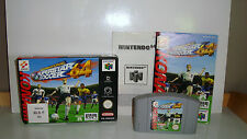JEU NINTENDO 64 N64 - INTERNATIONAL SUPERSTAR SOCCER 64 TBE COMPLET
