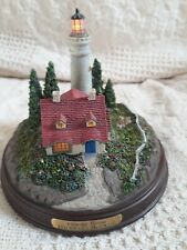 "Collectibles Thomas Kinkade ""Clearing Storms"", Country Scene Lighthouse ~ Lights"