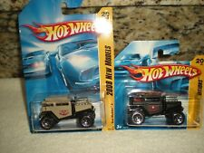 """Hot Wheels """"Bad Mudder"""" Jeep Style Lot (2) Both Different (Diecast) 1:64"""