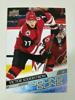 2020-21 Upper Deck Series 1 Victor Soderstrom Oversized Young Guns Jumbo #221
