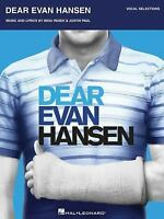 Dear Evan Hansen: Vocal Selections (Paperback or Softback)