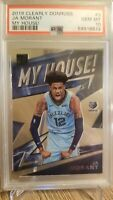 2019-20 Panini Clearly Donruss My House Ja Morant Rookie RC PSA 10 Gem Mint