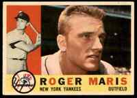 1960 Topps Roger Maris Nice CENTERED Yankees #377 *Noles2148*