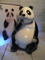 GIANT PANDA MONEYBOX PIGGY BANK MONEY BOX SAVING BANK Black and White Panda Gift
