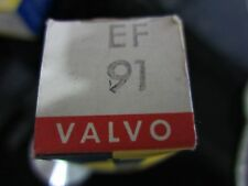 1 X VALVULA-TUBE.RÖHRE-LAMPE EF91 VALVO