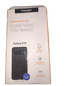 Spigen Samsung Galaxy S10 Case Tough Armor Black