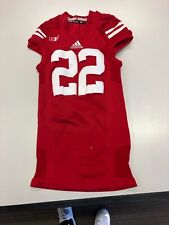 Wisconsin Football Jersey on Field Style with under sleeves dryfit