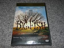 Big Fish Widescreen Dvd (Dolby, Subtitled) Ewan McGregor, Jessica Lange Sealed