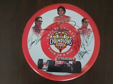 ACTION #100296 INDY CART CHAMPS UNPRECEDENTED 4-IN-A-ROW COLLECTION 1/43