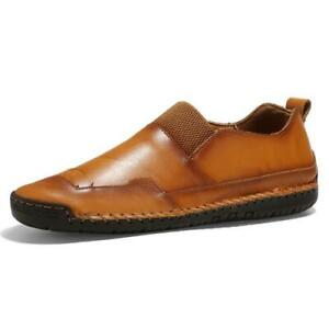 38-47 Mens Driving Moccasins Shoes Pumps Slip on Loafers Walking Soft Outdoor