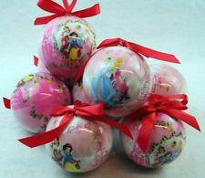 8 Kugel Disney Princess Weihnachtsbaumschumuck, Weihnachtskugel, Baumschumuck