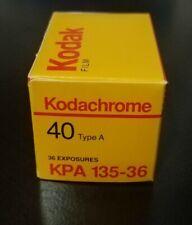1 roll 35mm Kodachrome 40 ISO Color Reversal Film 36 Exp. 6/1990