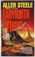 Labyrinth of Night by Allen Steele 1992 Ace Science Fiction Paperback