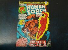 The Human Torch - Issue #8 - 1974 - Marvel Comics - Fair
