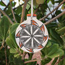 ACOMA PUEBLO - HANDPAINTED POTTERY ORNAMENT by LEE RAY-NATIVE AMERICAN