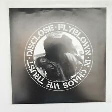 """DISCLOSE / FLYBLOWN: In Chaos We Trust split 7"""" (Never Healed)"""