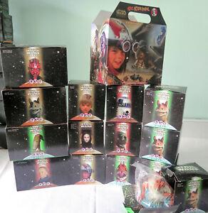 Lot of 14  STAR WARS Phantom Menace Taco Bell/KFC/Pizza Hut toys MIB  Darth Maul