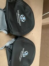 HOLDEN COMMODORE VF WALKINSHAW HEAD REST COVERS LEATHER SS SSV